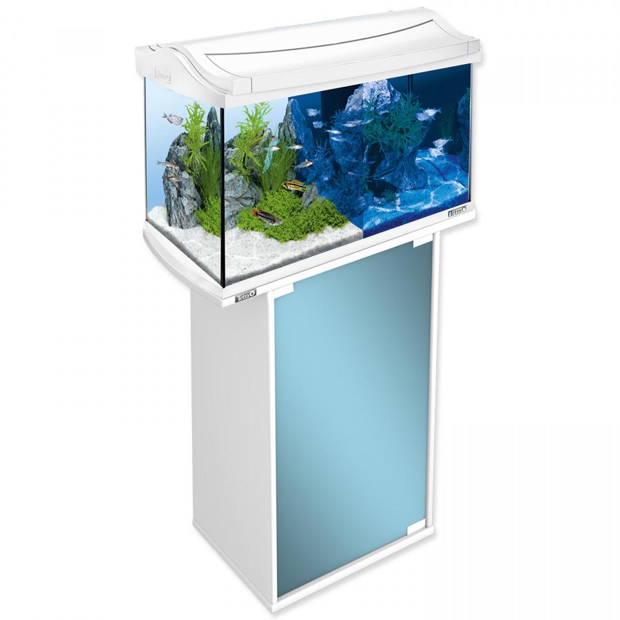 Akvārijs - Tetra AquaArt LED 60l, white