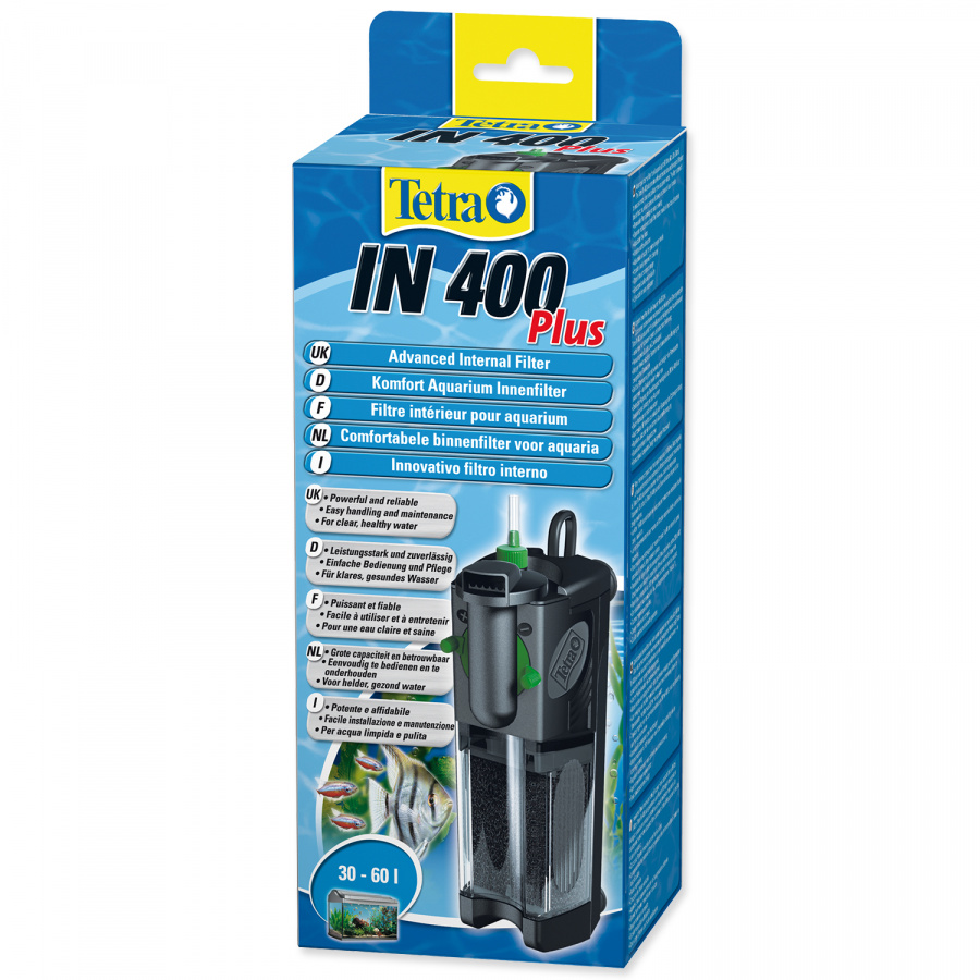 Фильтр для аквариума - Tetra IN 400 Plus