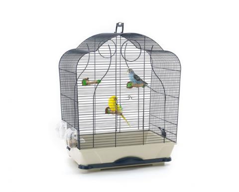 Клетка для птиц - Savic Isabelle 40, blue/blue granite title=