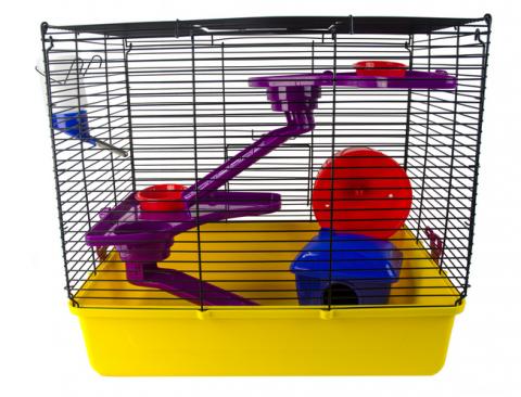Клетка для хомяков - Pawise Hamster Fun Home L, 41 x 30 x 37 см title=