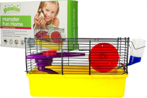 Клетка для хомяков - Pawise Hamster Fun Home S, 38*23*23 см