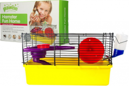 Клетка для хомяков - Pawise Hamster Fun Home S, 38*23*23 см