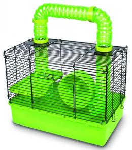 Būris pundurkāmjiem - Pawise Happy time hamster cage, 39*24*44 cm