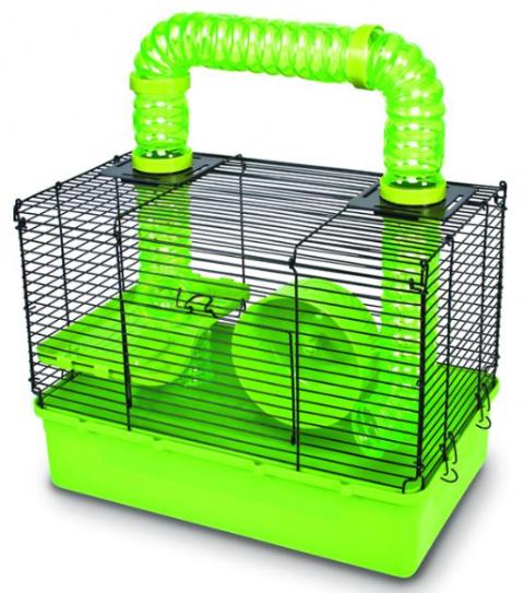 Клетка для хомяков - Pawise Happy time hamster cage, 39*24*44 см