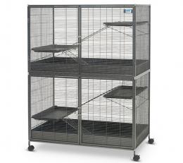 Клетка для грызунов - Savic Suite Royale XL, anthracite, 115 x 67,5 x 153 см