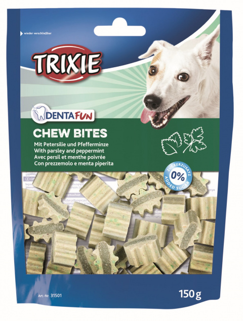 Gardums suņiem - Trixie Denta Fun Chew Bites, 150 g