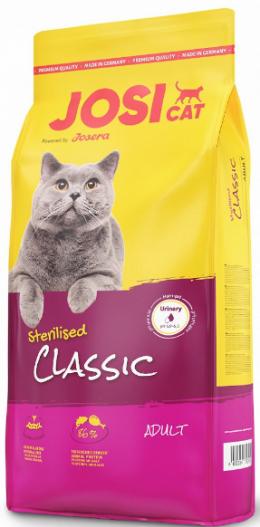 Barība kaķiem - JosiCat Sterilised Classic, 18 kg
