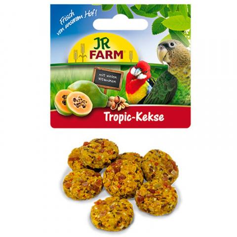 Gardums putniem - JR FARM Birds Tropic Cookies, 80 g