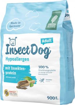 Корм для собак - Josera Green Petfood Insect Dog Hypoallergen, 0,9 кг