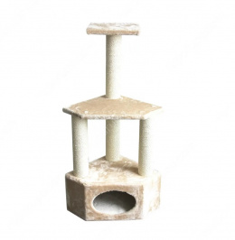 Домик для кошек - Pawise Rome II, 40 x 40 x 110 см, beige