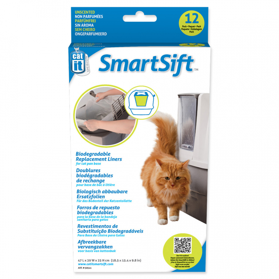 Maisiņi kaķu tualetei -  Bags for CatIt Design Sifting, lower part