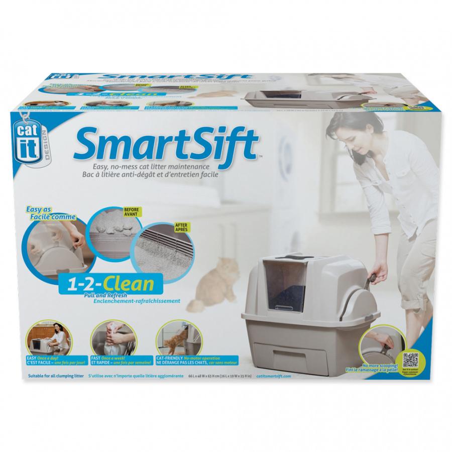 Tualete kaķiem - Cat It Design SmartSift, 66*48*63 cm