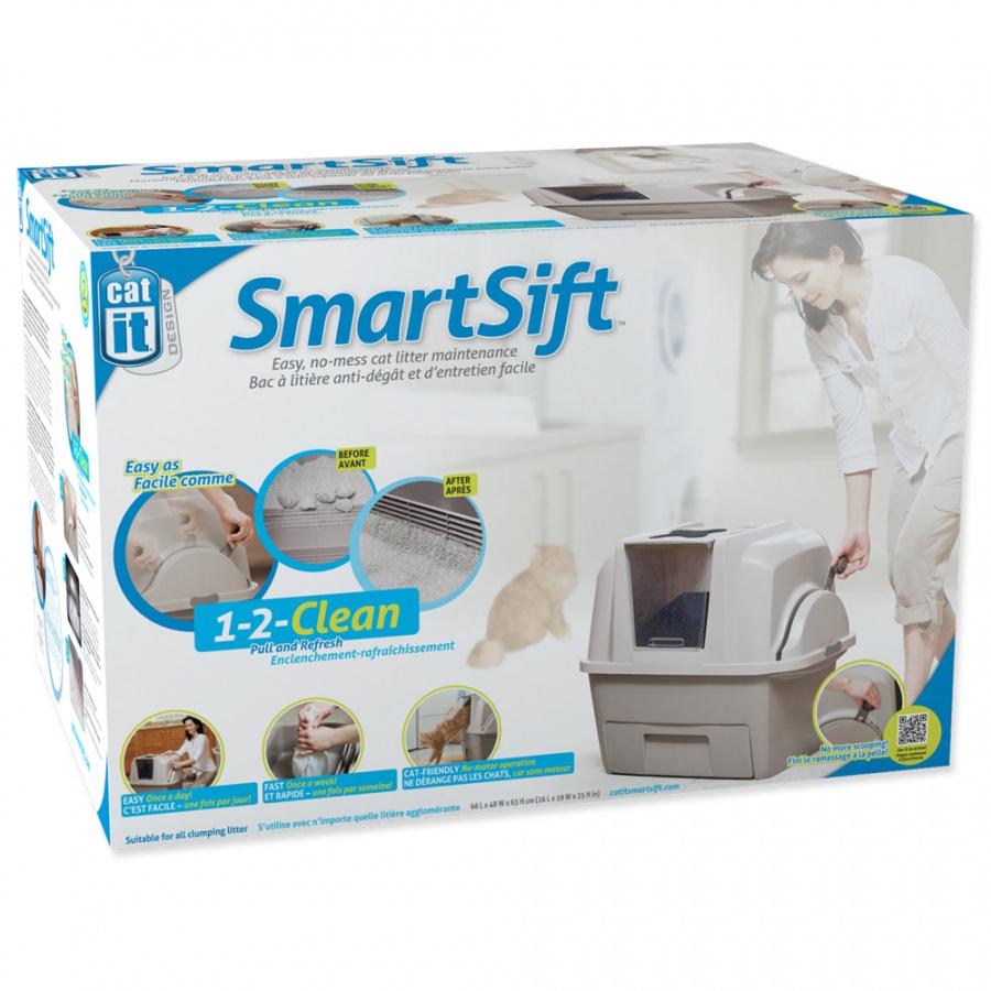 Tualete kaķiem - Cat It Design SmartSift, 66 x 48 x 63 cm