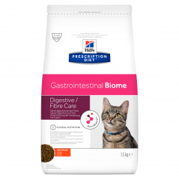 Veterinārā barība kaķiem - Hills Feline Gastrointestinal Biome, 1.5 kg