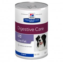 Veterinārie konservi suņiem - Hill's Low Fat Canine i/d, 360 g
