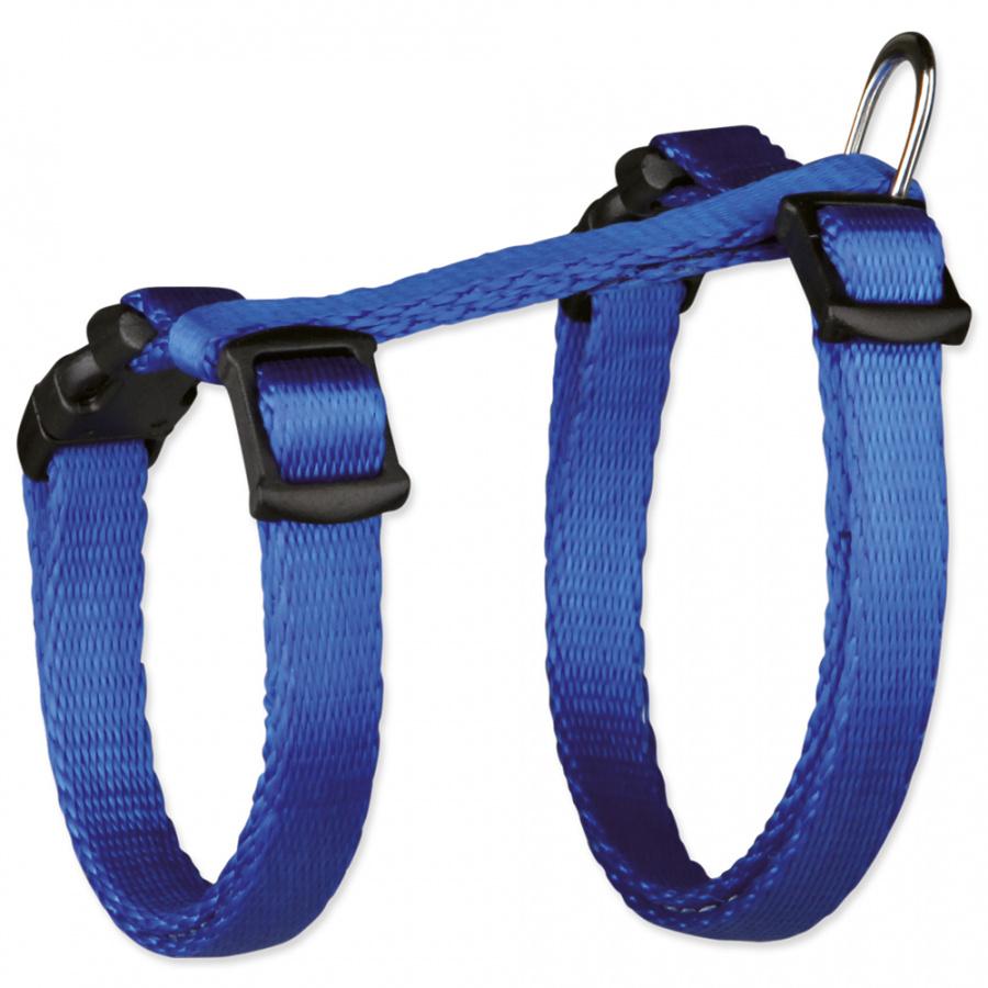 Krūšu siksna kaķēniem - Kitten harness, with lead, 19-31 cm, nylon