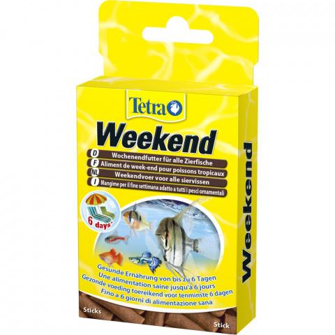 Корм выходного дня - Tetra Weekend, до 6 дней title=