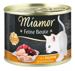 Консервы для кошек - Miamor Feine Beute Chicken, 185 г