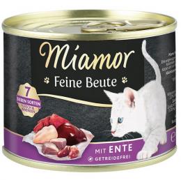 Консервы для кошек - Miamor Feine Beute Duck, 185 г