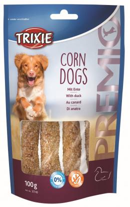 Лакомство для собак - TRIXIE PREMIO Corn Dogs with Duck, 4 шт./100 г