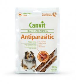 Лакомство для собак - Canvit Health Care Snack AntiParasitic, 200 г