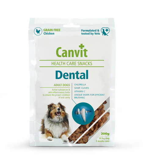 Лакомство для собак - Canvit Health Care Snack Dental, 200 г
