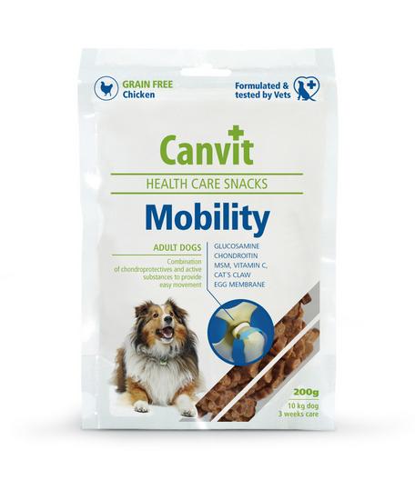 Gardums suņiem - Canvit Health Care Snack Mobility, 200 g title=