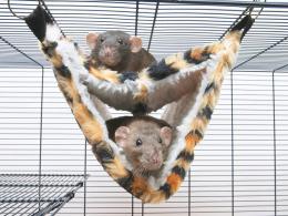 Спальное место для грызунов - Relax de Luxe Tube Fake Fur