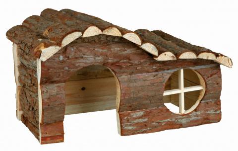Деревянный домик для грызунов - Trixie Natural Living Hanna house, 31 x 19 x 19 см title=