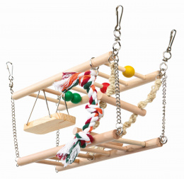 Аксессуар для клетки грызунов - Trixie Подвесной мостик, 27*16*10 cm
