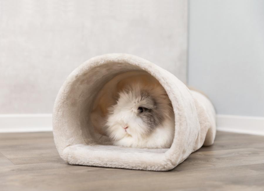 Туннель для кроликов - Trixie Cuddly Tunnel, 27x21x80 см