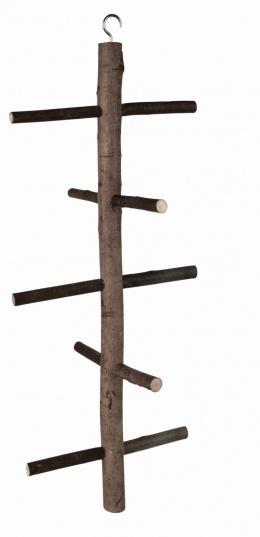 Koka trepītes putnu būrim – Trixie, Natural Living climbing frame, 47 cm