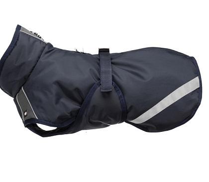Apģērbs suņiem – Trixie Rimont winter coat, L, 55 cm, tumši zils ar pelēku title=