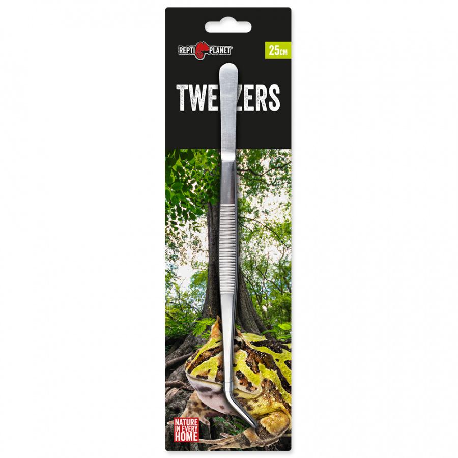 Пинцет для кормления рептилий - Repti Planet Stainless tweezers, 25 см