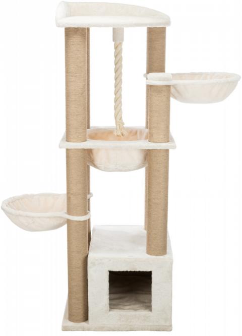 Mājiņa kaķiem – TRIXIE Elia Scratching Post XXL, 172 cm, Cream title=
