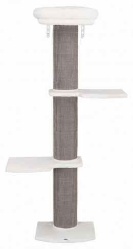 Mājiņa kaķiem - Trixie Acadia scratching post for wall mounting, 160 cm, grey