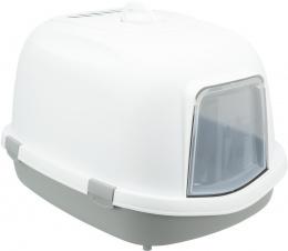 Туалет для кошек - Trixie Primo XXL Litter Tray, 56 x 47 x 71 см grey/white