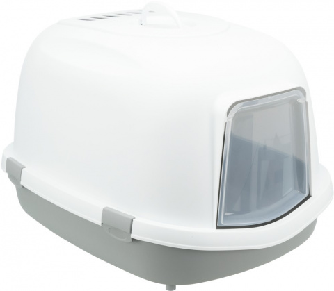 Tualete kaķiem - Trixie Primo XXL Litter Tray, 56*47*71 cm grey/white title=