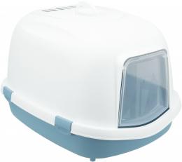 Туалет для кошек - Trixie Primo XXL Litter Tray, 56 x 47 x 71 см blue/white