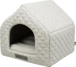 Спальное место для кошек – TRIXIE Noah Vital Cuddly Cave, 45 x 40 x 43 см, Light Grey
