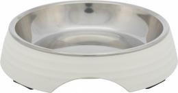Bļoda kaķiem - Trixie Melamine/Stainless steel bowl, 0.2 l/14 cm