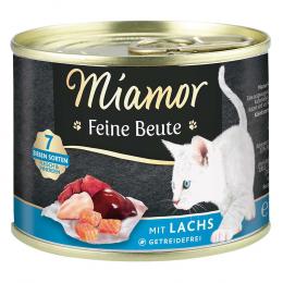 Консервы для кошек - Miamor Feine Beute Salmon, 185 г