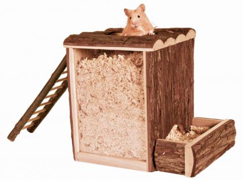 Игрушка для грызунов - Natural Living play and burrow tower, 25 x 24 x 20 см