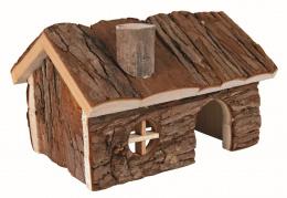 Деревянный домик для грызунов - Trixie Natural Living Hendrik house, 20 x 12 x 17 см