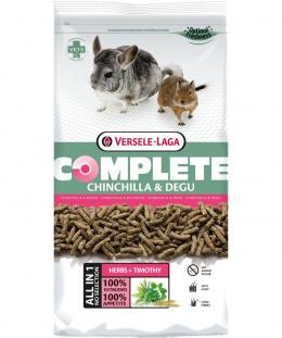 Barība šinšillām & degu - VERSELE-LAGA Complete Chinchilla & Degu, 1.75 kg