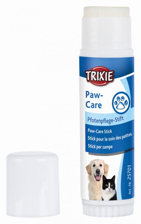 Līdzeklis dzīvnieku ķepu kopšanai - Trixie Paw-care stick, 17 g title=