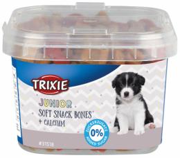 Gardums kucēniem - Junior Soft Snack Bones, ar kalciju, 140 g