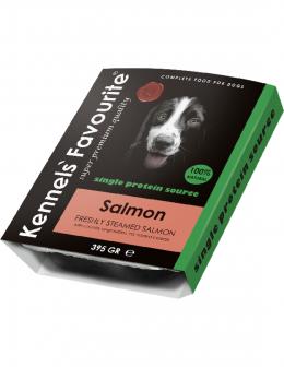 Konservi suņiem - Kennels Favourite Salmon, 395 g
