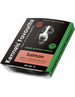 Консервы для собак - Kennels Favourite Salmon, 395 г