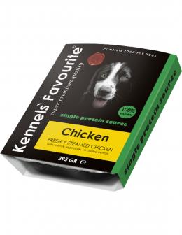 Konservi suņiem - Kennels Favourite Chicken, 395 g